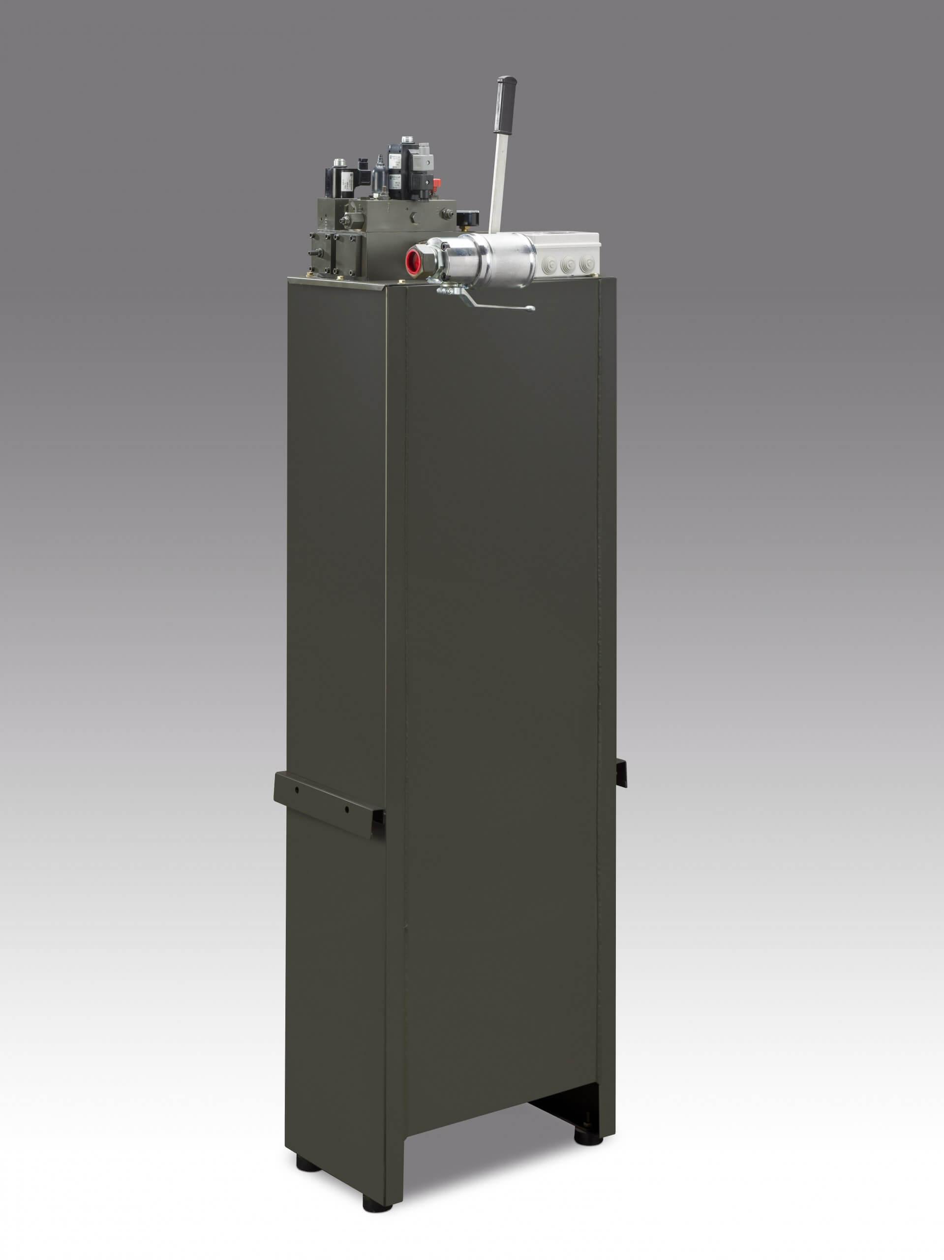 centralina idraulica applicazione vano